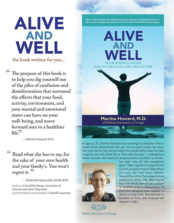 Alive and Well Book written by Dr. Martha Howard